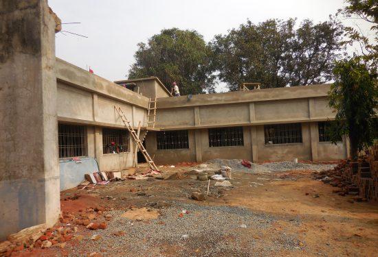 Verlaten gezondheidscentrum